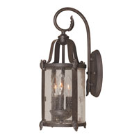 World Import Designs Old Sturbridge 3 Light Outdoor Wall Lantern in Bronze 1692-89