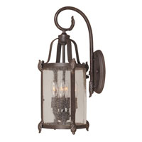 World Import Designs Old Sturbridge 4 Light Outdoor Wall Lantern in Bronze 1693-89