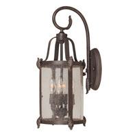World Import Designs Old Sturbridge 4 Light Outdoor Wall Lantern in Bronze 1693-89 photo thumbnail