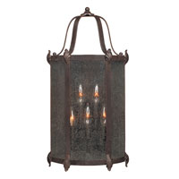 World Import Designs Old Sturbridge 6 Light Outdoor Wall Lantern in Bronze 1695-89