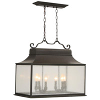 Revere 6 Light 25 inch Flemish Outdoor Island Pendant Ceiling Light