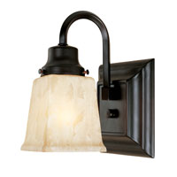 World Import Designs Bathgate 1 Light Wall Sconce in Weathered Copper 2603-56