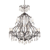 World Import Designs Timeless Elegance 21 Light Chandelier in Bronze 2618-89