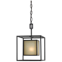Hilden 1 Light Aged Bronze Pendant Ceiling Light