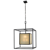 Hilden 8 Light Aged Bronze Pendant Ceiling Light