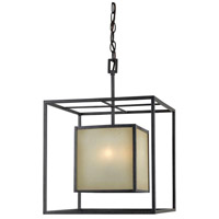 Hilden 4 Light Aged Bronze Pendant Ceiling Light