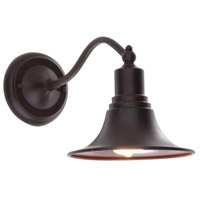Dark Sky Kingston 1 Light 11 inch Bronze Outdoor Wall Mount Lantern