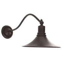 Dark Sky Kingston 1 Light 12 inch Bronze Outdoor Wall Lantern
