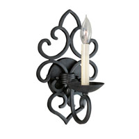 World Import Designs Signature 1 Light Wall Sconce in Rust 305-42