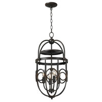 World Import Designs Belle Chasse 4 Light Foyer in Rust 3514-42