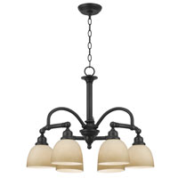 World Import Designs Amelia 6 Light Chandelier in Oiled Rubbed Bronze 3536-88