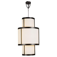 Edmonton 16 Light Euro Bronze Pendant Ceiling Light