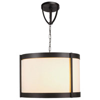 Edmonton 3 Light 18 inch Euro Bronze Chandelier Ceiling Light