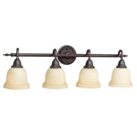 Montpellier 4 Light 11 inch Oil Rubbed Bronze Bath Bar Wall Light