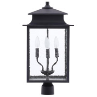 Sutton 4 Light 23 inch Rust Outdoor Post Lantern