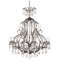 Timeless Elegance 21 Light 49 inch Bronze Chandelier Ceiling Light
