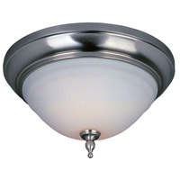 Montpellier 2 Light 13 inch Satin Nickel Flush Mount Ceiling Light