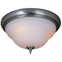 Montpellier 2 Light 15 inch Satin Nickel Flush Mount Ceiling Light
