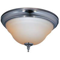 Montpellier 2 Light 15 inch Chrome Bath Flush Mount Ceiling Light