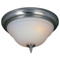 Montpellier 3 Light 18 inch Satin Nickel Flush Mount Ceiling Light