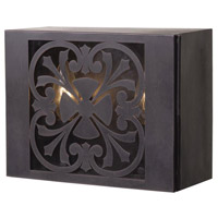 Adelaide 2 Light 7 inch Bronze Outdoor Wall Sconce