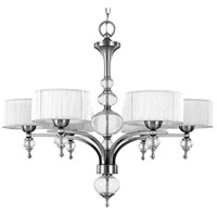 Bayonne 6 Light 32 inch Brushed Nickel Chandelier Ceiling Light