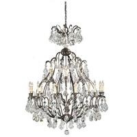 Timeless Elegance 18 Light 49 inch Bronze Hanging Chandelier Ceiling Light