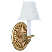 Monticello 1 Light 4 inch Gold Wall Sconce Wall Light