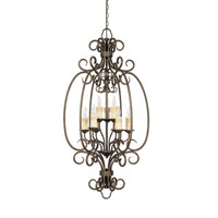 World Import Designs Sheffield 9 Light Foyer in French Bronze 5059-63 photo thumbnail