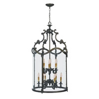 World Import Designs Venezia 9 Light Pendant in French Bronze 5159-63