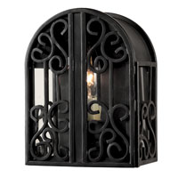 World Import Designs Sevilla 1 Light Outdoor Wall Lantern in Rust 5250-42