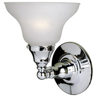 Asten 1 Light 7 inch Chrome Wall Sconce Wall Light