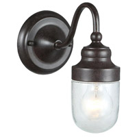 Nichols Road 1 Light 10 inch Bronze Outdoor Wall