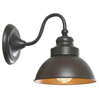 Dark Sky Magazine Street 1 Light 9 inch Bronze Outdoor Wall
