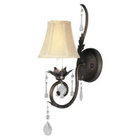 Berkeley Square 1 Light 6 inch Weathered Bronze Wall Sconce Wall Light