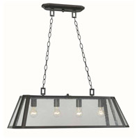 Bedford 4 Light 32 inch Oil Rubbed Bronze Island Pendant Ceiling Light