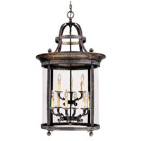 Chatham 9 Light 25 inch French Bronze Outdoor Hanging Lantern
