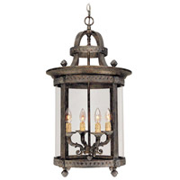Chatham 4 Light 16 inch French Bronze Interior Lantern Ceiling Light