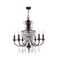 World Import Designs Lille 6 Light Chandelier in Bronze 5846-89 photo thumbnail