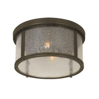World Import Designs Revere 2 Light Flush Mount in Flemish 61307-06
