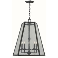Bedford 5 Light 26 inch Oiled Rubbed Bronze Pendant Ceiling Light