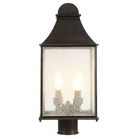 World Import Designs 61317-06 Revere 4 Light 20 inch Flemish Outdoor Post Lantern photo thumbnail