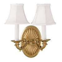 World Import Designs Signature 2 Light Wall Sconce in French Gold 6208-14