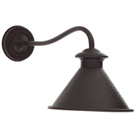 Dark Sky Essen 1 Light 12 inch Bronze Outdoor Wall Lamp