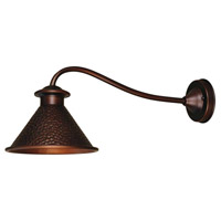 Dark Sky Essen 1 Light 9 inch Antique Copper Outdoor Wall Lamp