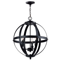Magellen 3 Light Rust Pendant Ceiling Light