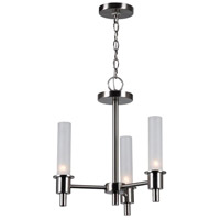 Dunwoody 3 Light 16 inch Satin Nickel Chandelier Ceiling Light