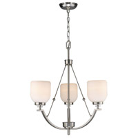 Bailie 3 Light 24 inch Brushed Nickel Chandelier Ceiling Light