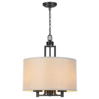 Kole 3 Light Oil Rubbed Bronze Pendant Ceiling Light