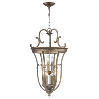 Hayley 9 Light Distressed Bronze Pendant Ceiling Light